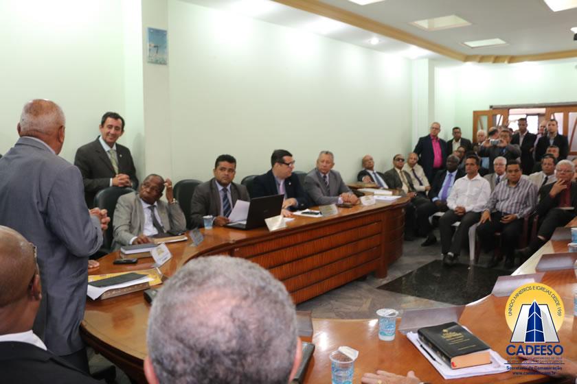 Primeira reunião da nova Mesa Diretora da CADEESO foi marcada pela cordialidade