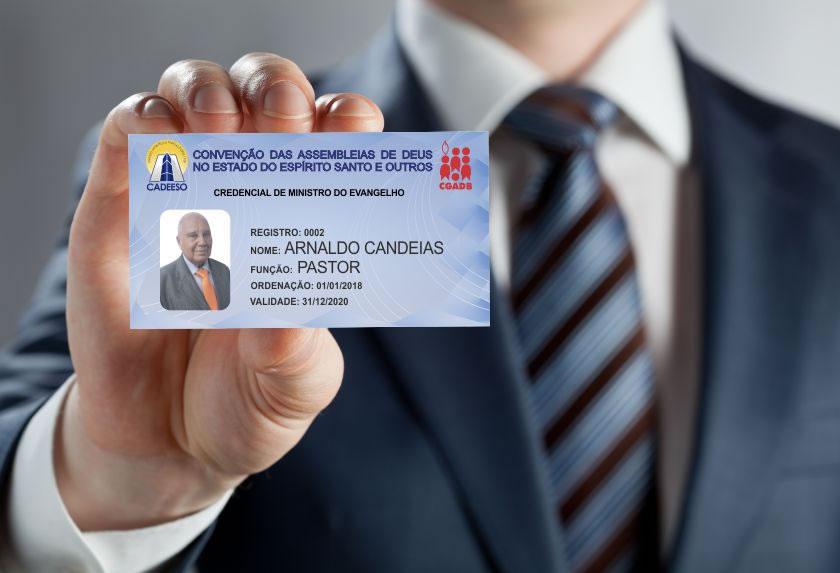 Nova credencial de Ministros da CADEESO