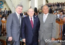 Presidente da CGADB recebe comitiva da CADEESO