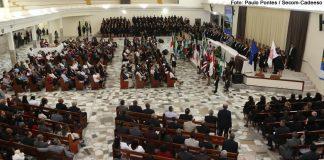 Abertura da 110ª AGO da CADEESO: um momento festivo e fraternal