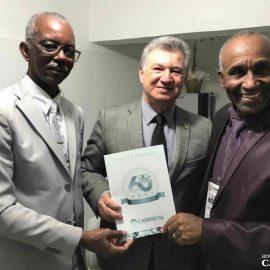 Comitiva da CADEESO formaliza convite ao presidente da CGADB